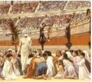 Hristiyanlar Roma'lılar tarafından gaddarca katledildiler