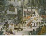 Kilise konseylerinden birinin bir tablosu