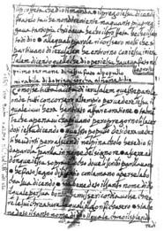 Barnabas İncili'nin İtalyanca nüshasından bir alıntı